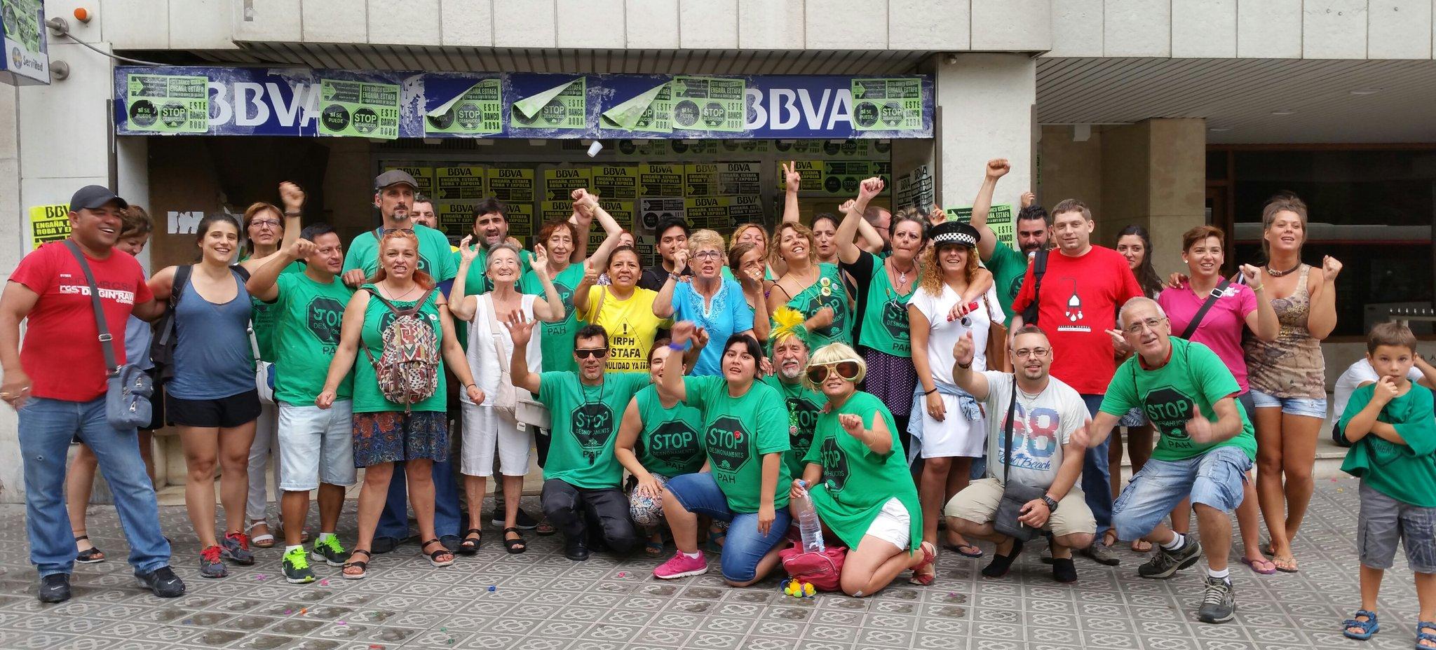 Seguimos la campa a de se alizaci n a bbva pah barcelona for Bbva oficines barcelona